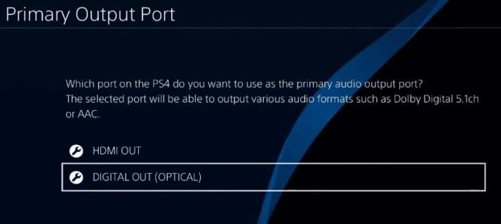 Optical PS4