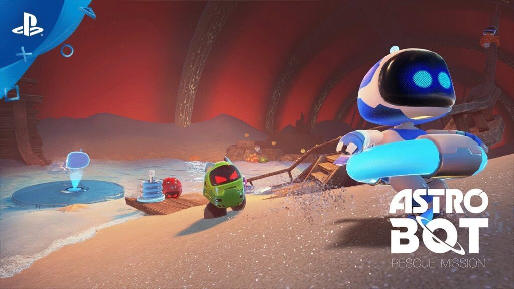 Astro Bot Rescue Mission - Free VR Games