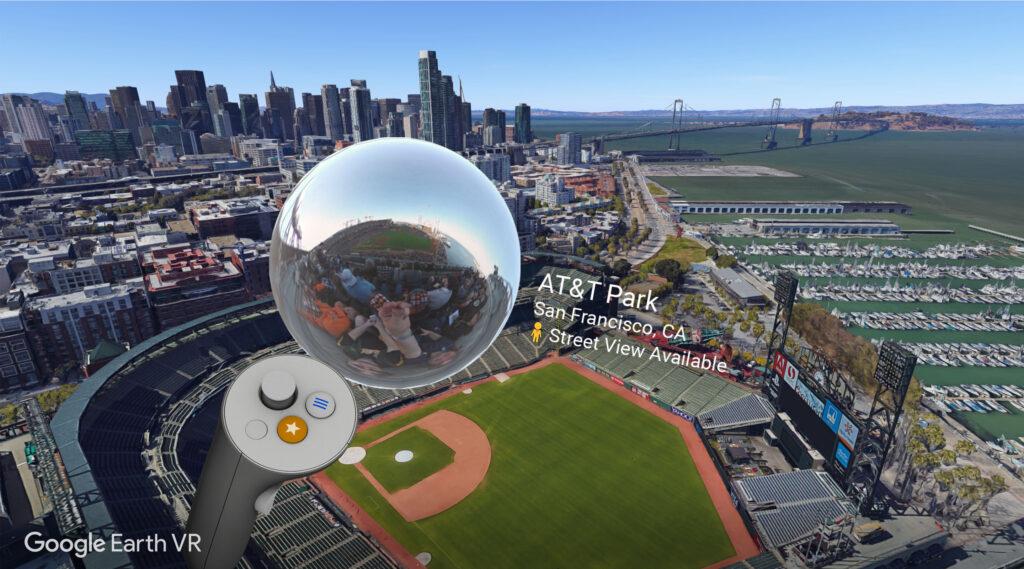 Google Earth (HTC Vive) - Free VR Games