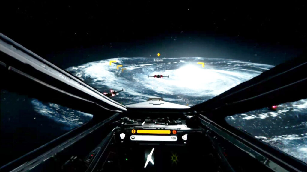 Star Wars Battlefront VR Mission (PSVR) - Free VR Games