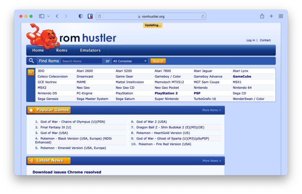 Safe ROM Sites
